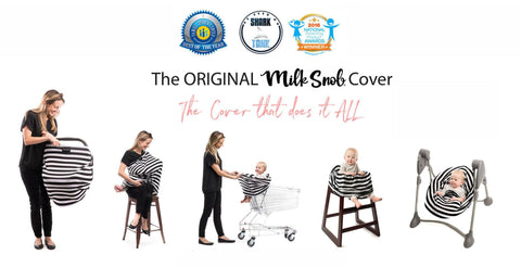 Milk Snob Multiuse Nursing & Carseat Cover Butterfly Garden