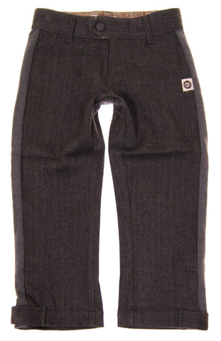 Mini Shatsu Herringbone Tweed Pants (6M)