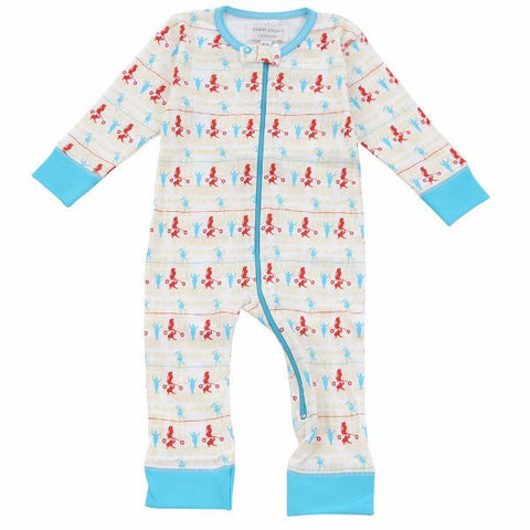 Sweet Peanut Organic Cotton Ringmaster Footless Romper (0-3M)