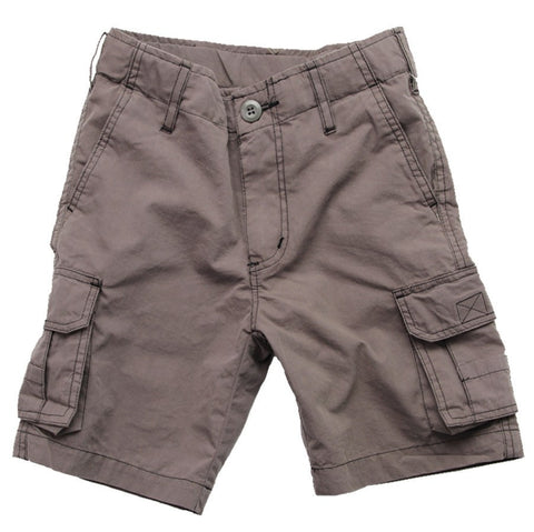 Wes & Willy Charcoal Cargo Shorts (size 6)