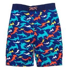 Appaman Hammer Time Shark Swim Trunks