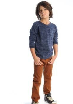 Appaman Leather Brown Skinny Twill Pants (4T)