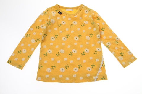 Bitz Kids Yellow Floral Long Sleeve Shirt