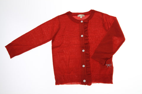 Bitz Kids Red Button Down Cardigan