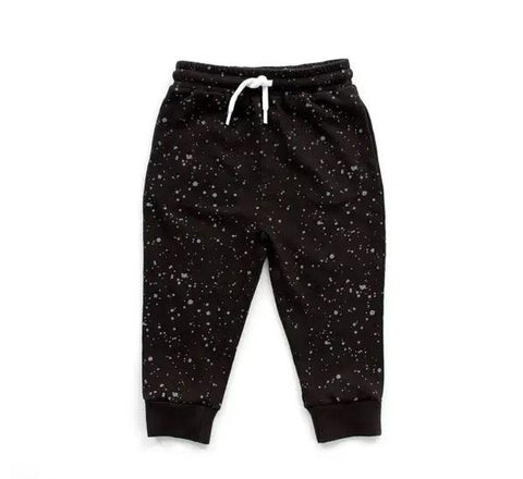 bear camp splatter jogger pants