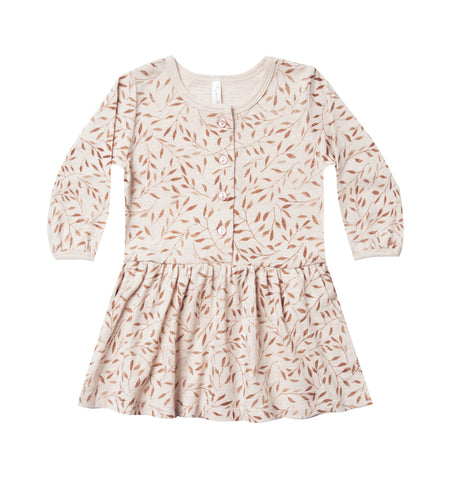 Rylee & Cru Wheat Vines Button Up Dress