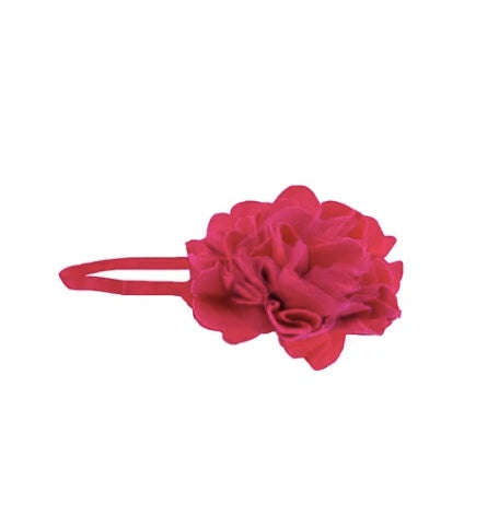 Lemon Loves Lime Cabaret Bright Pink Rose Headband