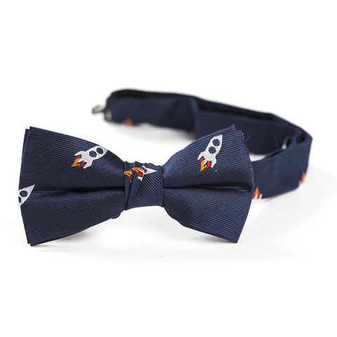 Urban Sunday Cape Canaveral Rocketship Bowtie (2-4yrs)
