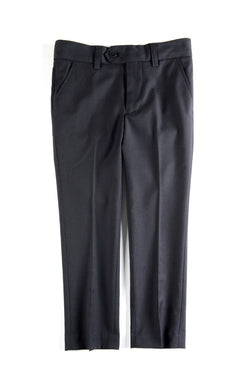 Appaman Mod Black Boys Suit Pants