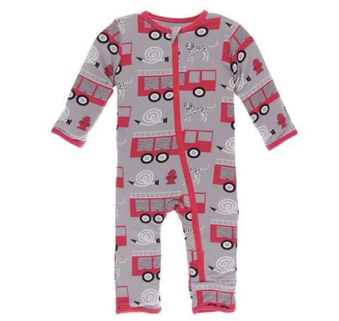 KicKee Pants Firefighter Zippered Coverall