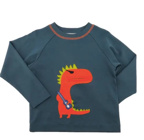 Lemon Loves Lime Rocker Dinosaur Tee