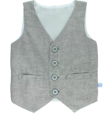 Rugged Butts Grey Vest