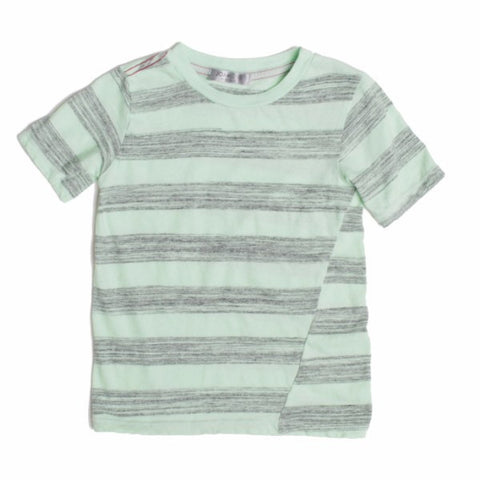 Joah Love Russ Peppermint Stripe Short Sleeve Shirt