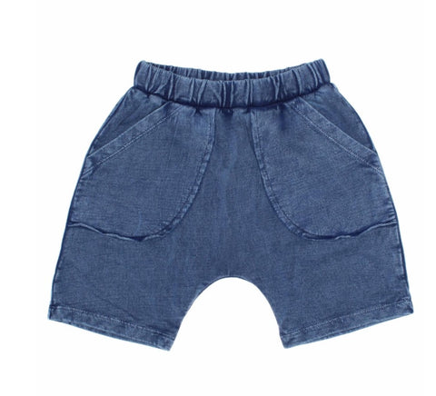 Joah Love Neal Navy Vintage Washed Shorts