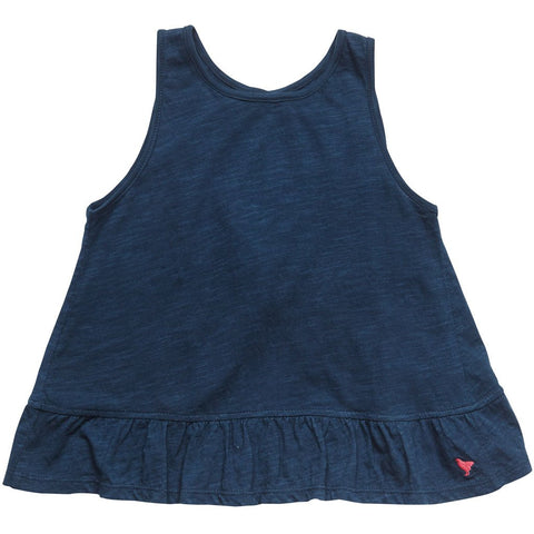 Pink Chicken Navy Joy Top (12yrs)