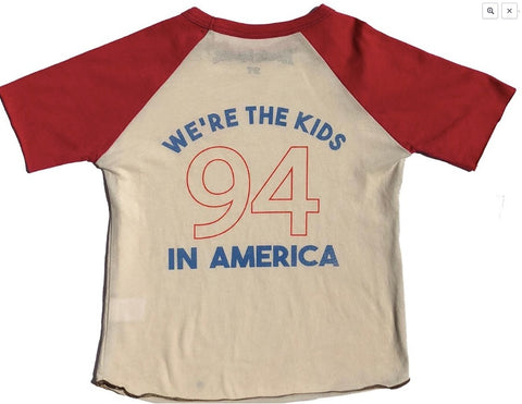 Rowdy Sprout Kids In America Raglan