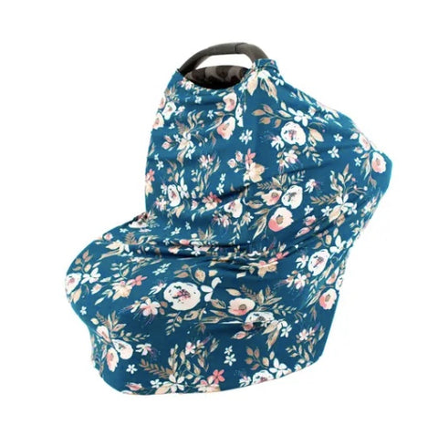 Bebe Au Lait Midnight Floral 5 in 1 Cover