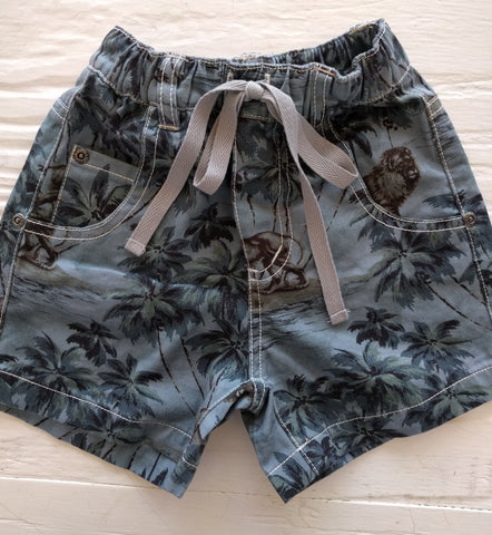 Paper Wings Lion Around Shorts