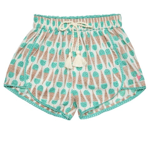 Pink Chicken Mint Chocolate Chip Millie Shorts
