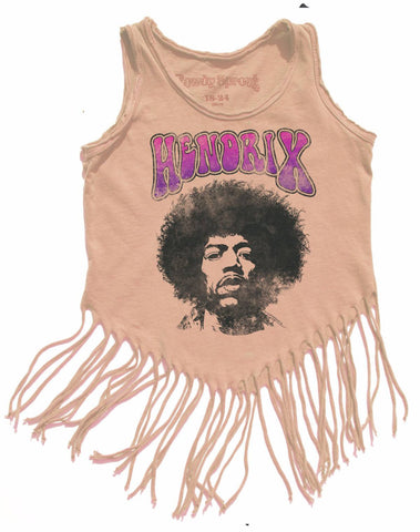 Rowdy Sprout Peach Parfait Hendrix Hippy Shake Tank Top