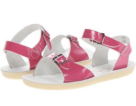 Salt Water Surfer Sandal- Fuchsia