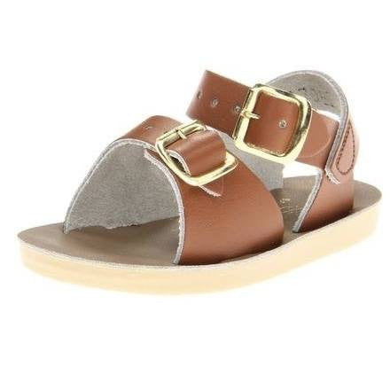Salt Water Surfer Sandal- Tan