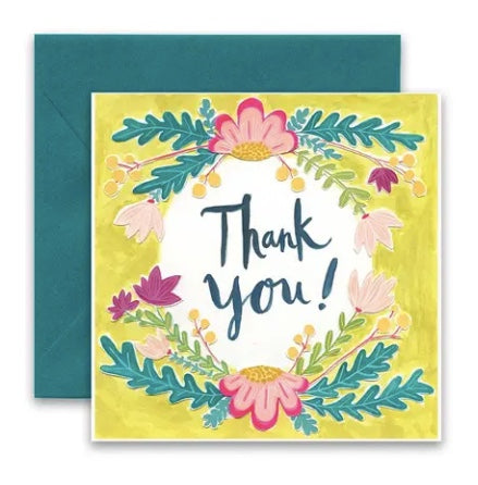 Carly Girl Thank You Card