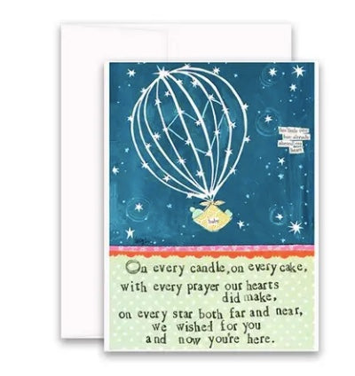 Carly Girl Wished For You Card