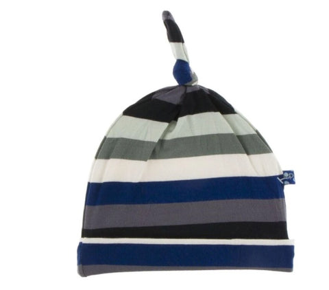 KicKee Pants Zoology Stripe Knot Hat