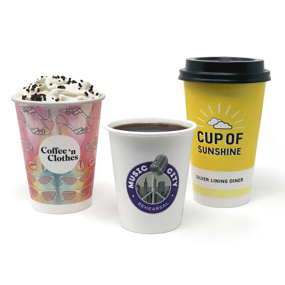 Single Wall Paper Hot Cups