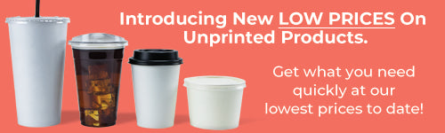 New LOW prices on unprinted products