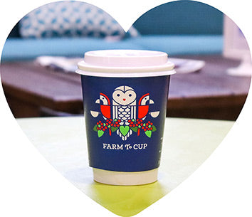 Alma Coffee Logo on Cup