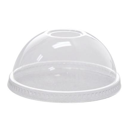 Dome Lids for 12oz to 24oz Clear Plastic PET Cups