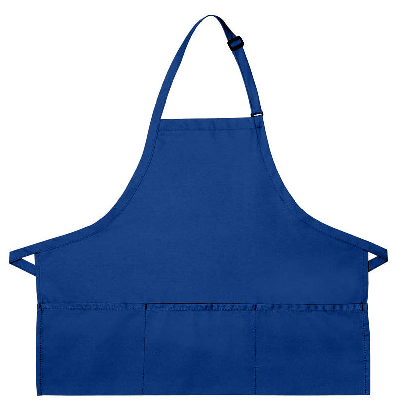 Three Pocket Bib Apron
