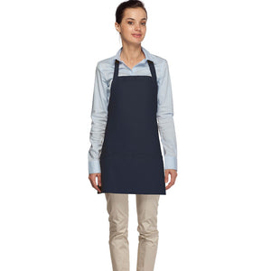 Criss Cross Three Pocket Bib Apron