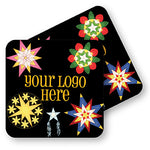 "Winter 4"" Full Color Square Custom Coaster - Front & Back 100 Pack"