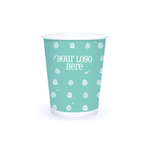 Spring 8oz Custom Printed Single Wall Paper Hot Cups