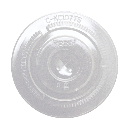 Flat Lids for 32oz PET Clear Cold Cups