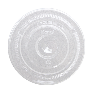 Flat Lids for 12oz to 24oz Clear Plastic PET Cups