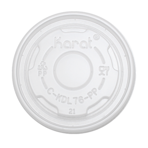 Flat Lids for 4oz Dessert/Food Containers