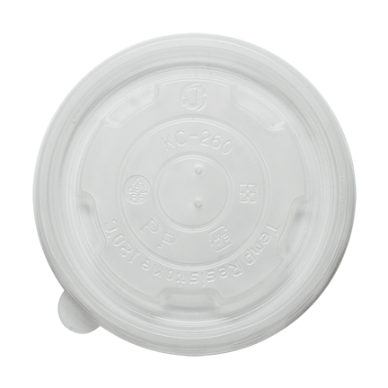 Flat Lids for 8oz Dessert/Food Containers