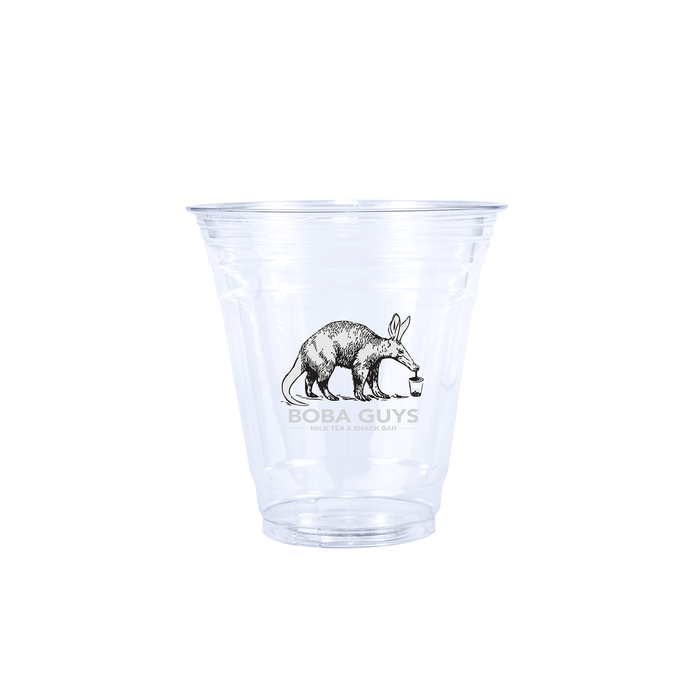 12oz Custom Printed Clear Plastic PET Cups