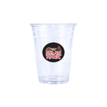 Reliance 16oz Custom Printed Clear Plastic PET Cups