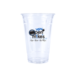 20oz Custom Printed Clear Plastic PET Cups