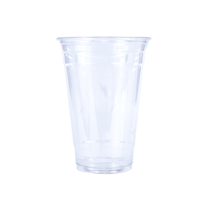 Reliance Blank 20oz Clear Plastic PET Cup