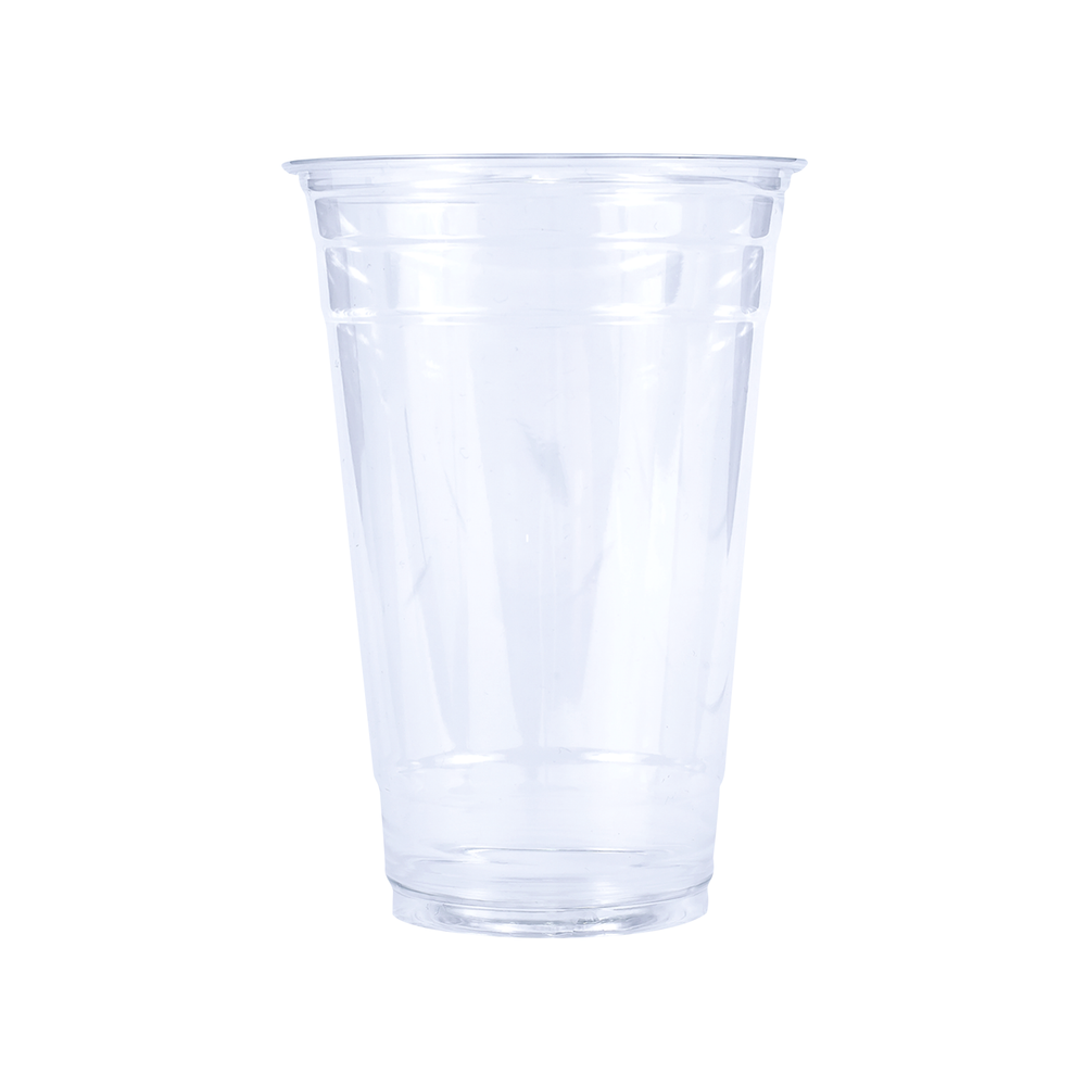 Blank 24oz Clear Plastic PET Cup