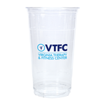 32oz Custom Printed Clear Plastic PET Cups