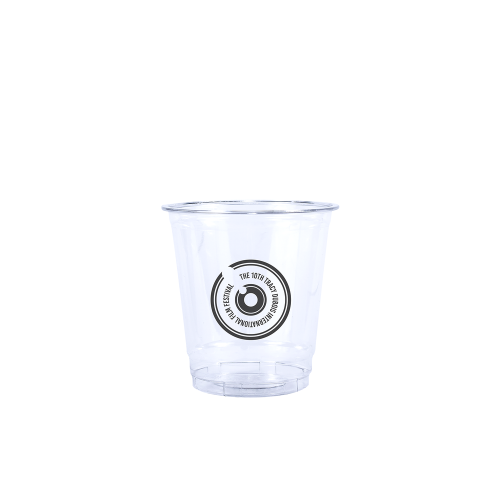 8oz Custom Printed Clear Plastic PET Cups