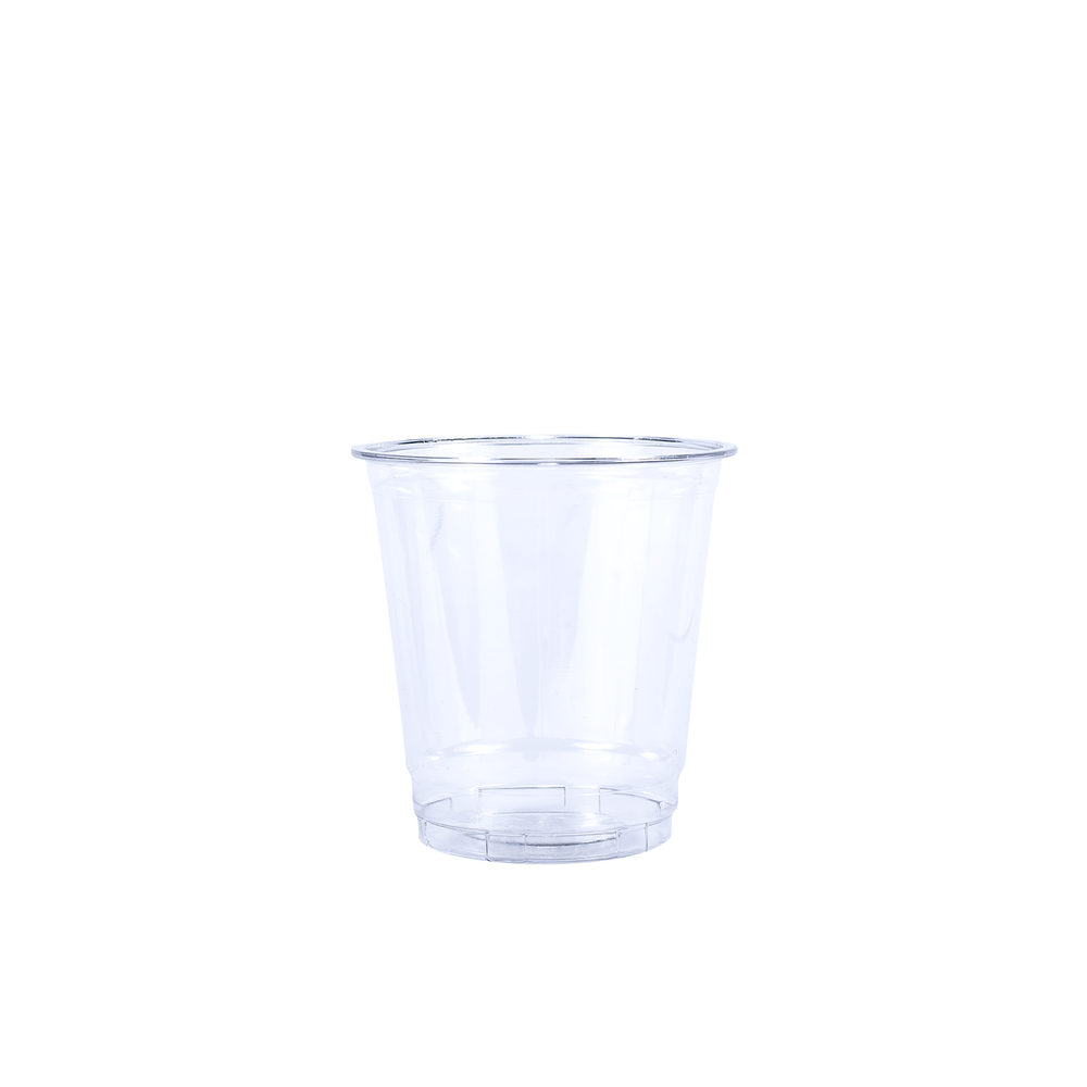 Blank 8oz Clear Plastic PET Cup