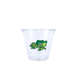 9oz Custom Printed Clear Plastic PET Cup